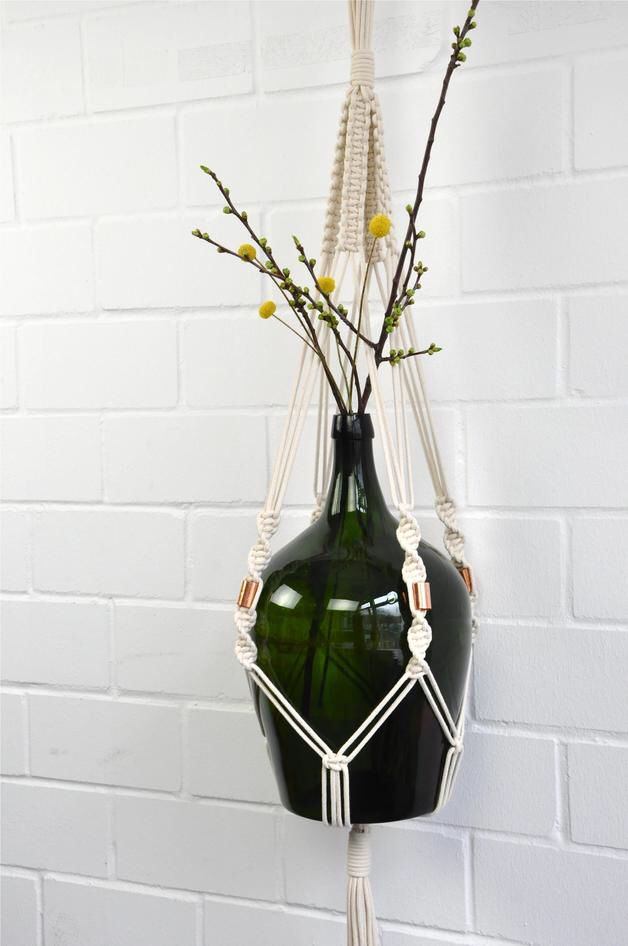 36 best images about makramee plant hangers on pinterest macrame macrame plant hangers and. Black Bedroom Furniture Sets. Home Design Ideas