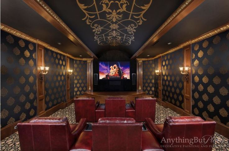 Home Theater Design Houston Property Alluring Design Inspiration