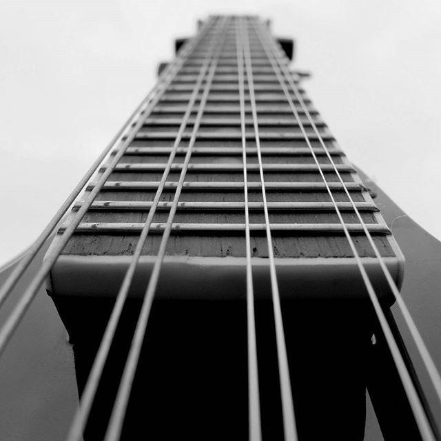 #guitar#black#and#white#music#my#love  ❤ ✌