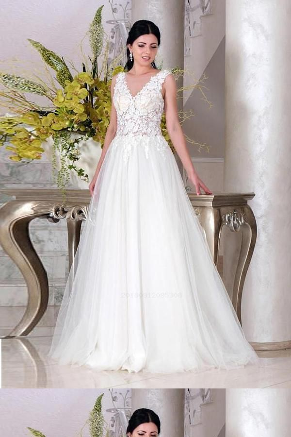 bb2bd984e50 Hot Sale Beautiful Simple Wedding Dress