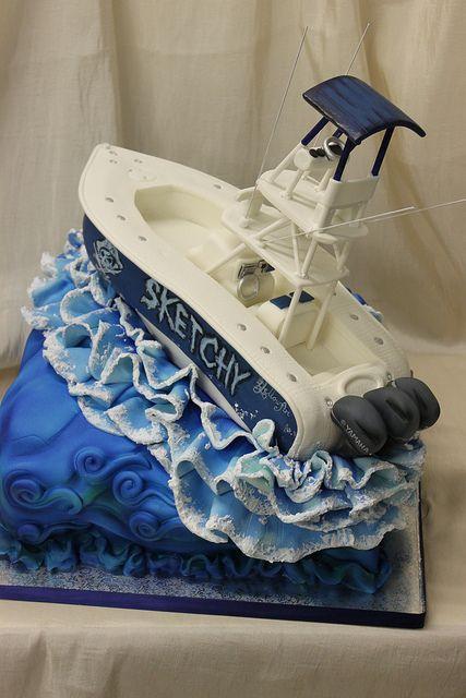 Boat Groom's Cake