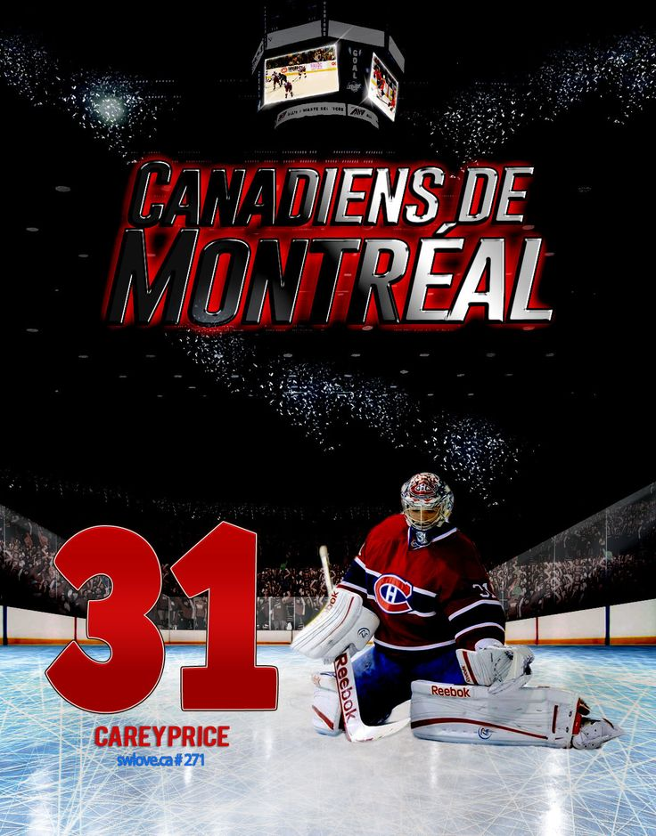 #31 Carey Price, Montreal Canadiens