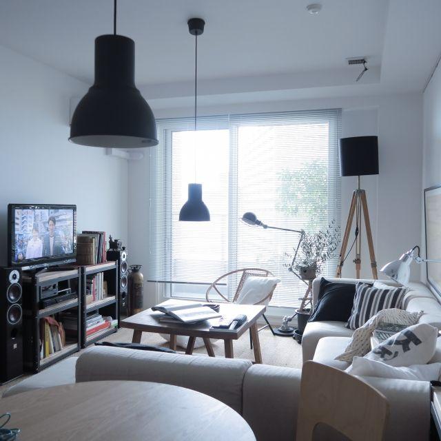 ホームシアター/IKEA/額/ポスター/照明/無印良品…などのインテリア実例 - 2015-07-15 21:47:33 | RoomClip(ルームクリップ)