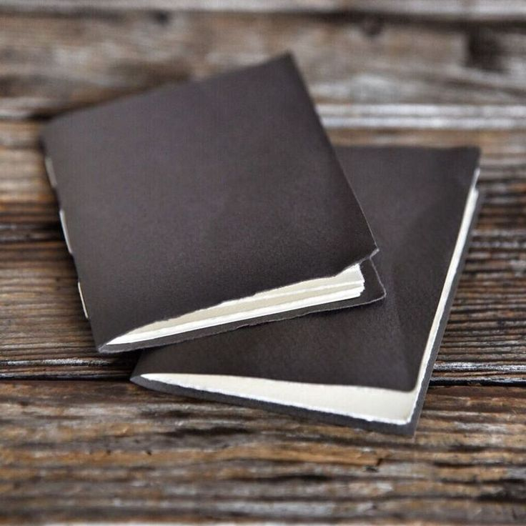How to make a hand-stitched paper journal - use for Midori inserts