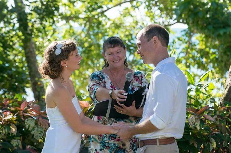Fitzroy Island wedding, so much fun.