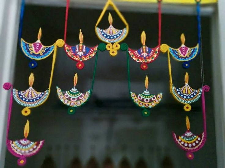 Pooja Room Diwali Decoration