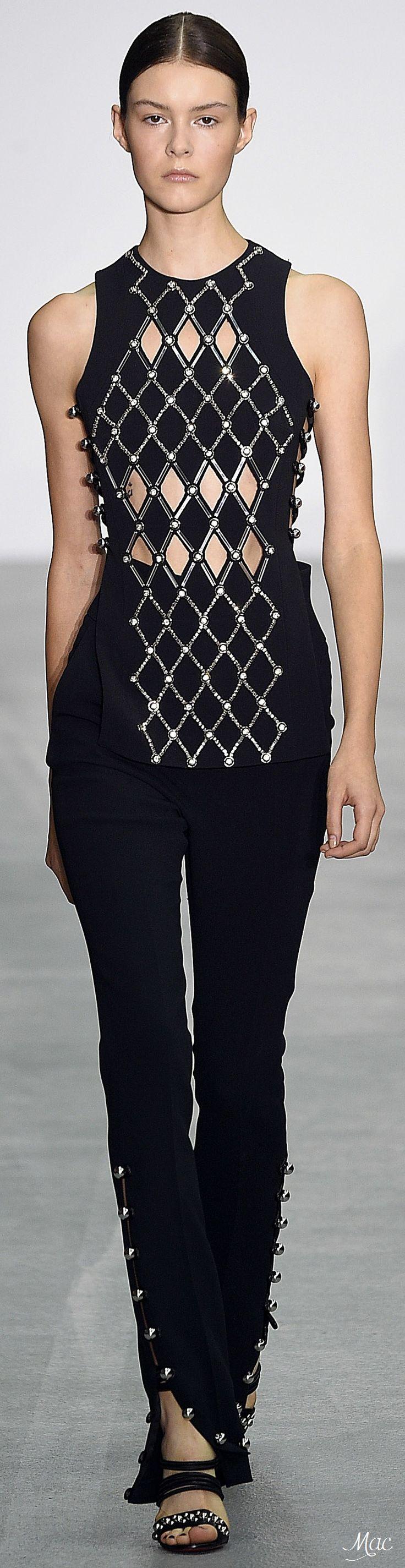 Spring 2017 Ready-to-Wear David Koma