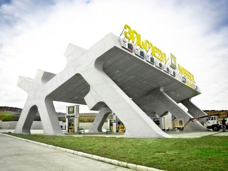 Rest Stops by J. Mayer H. Architects