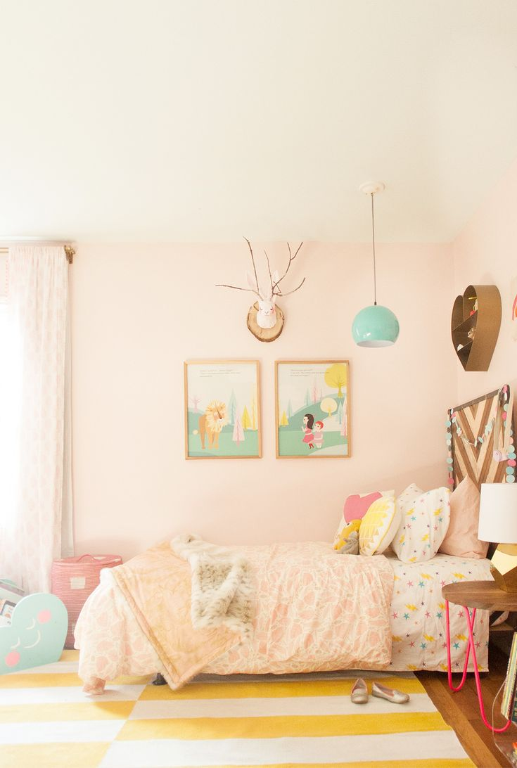 Shared Girls Room Design Refresh by Lay Baby Lay 11