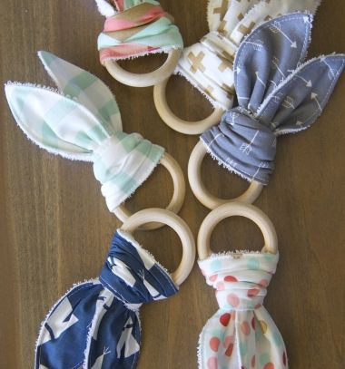 With a baby coming, you may start thinking what would be fun to add to your baby' s stash. Because babies tend to be chewers ( especially while teething ),instead of chewing on their hands, socks, or corners of blankets… made these Natural Wood ...