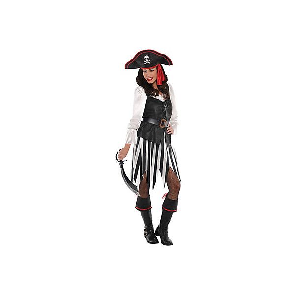 Adult High Sea Sweetheart Pirate Costume ❤ liked on Polyvore featuring costumes, adult halloween costumes, sexy costumes, sexy adult costumes, sexy pirate halloween costume and sexy halloween costumes