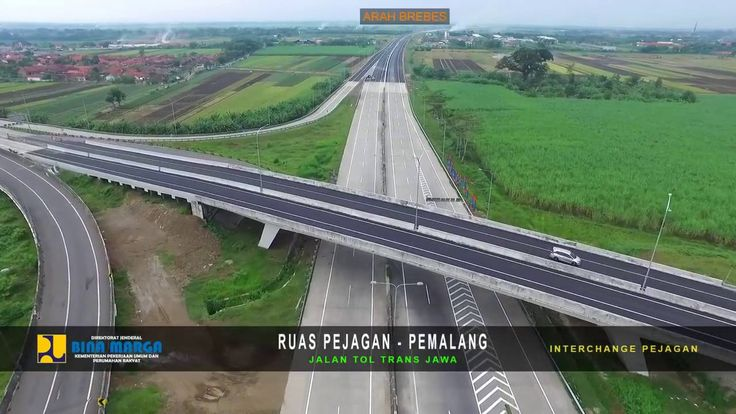VIDEO TOL PEJAGAN - PEMALANG SKYVIEW