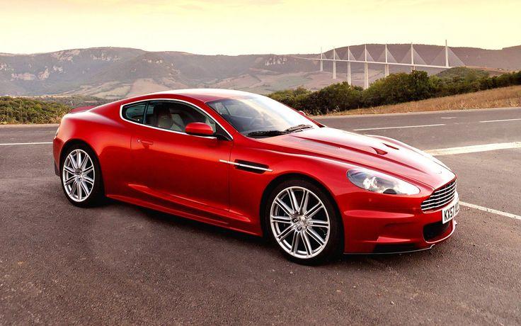 Red Aston Martin DB9 Car HD Wallpaper