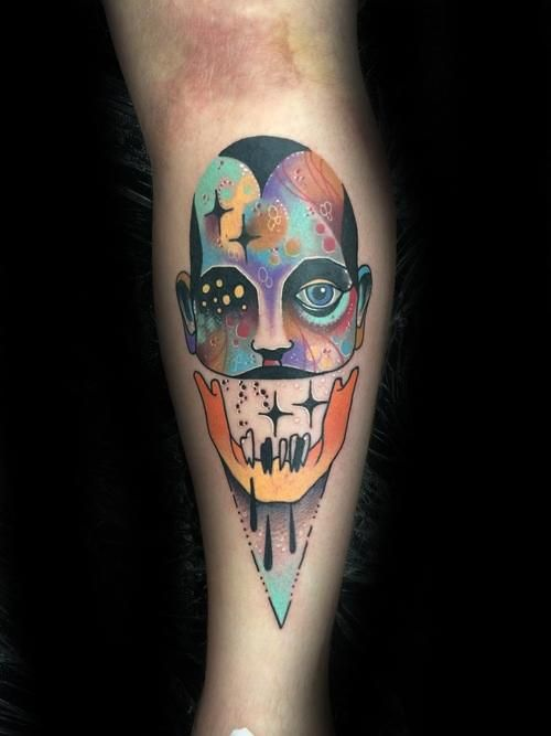 bbf42e932 60 Trippy Tattoos For Men - Psychedelic Design Ideas | ART | Tattoos ...