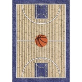 basketball rug  Found it at Wayfair - All Stars Basketball Ground Kids Rug