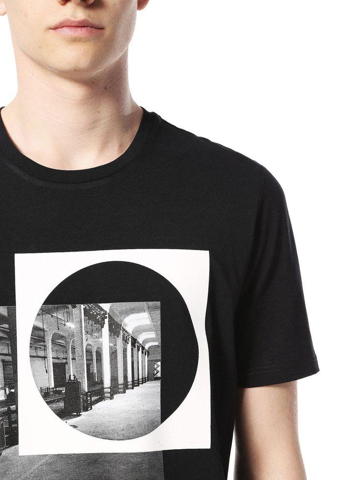 Diesel Black Gold TY-INDUS Camisetas Hombre | Diesel Online Store