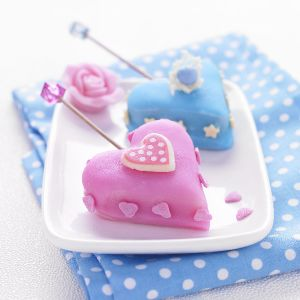 Cakes pops Saint-Valentin