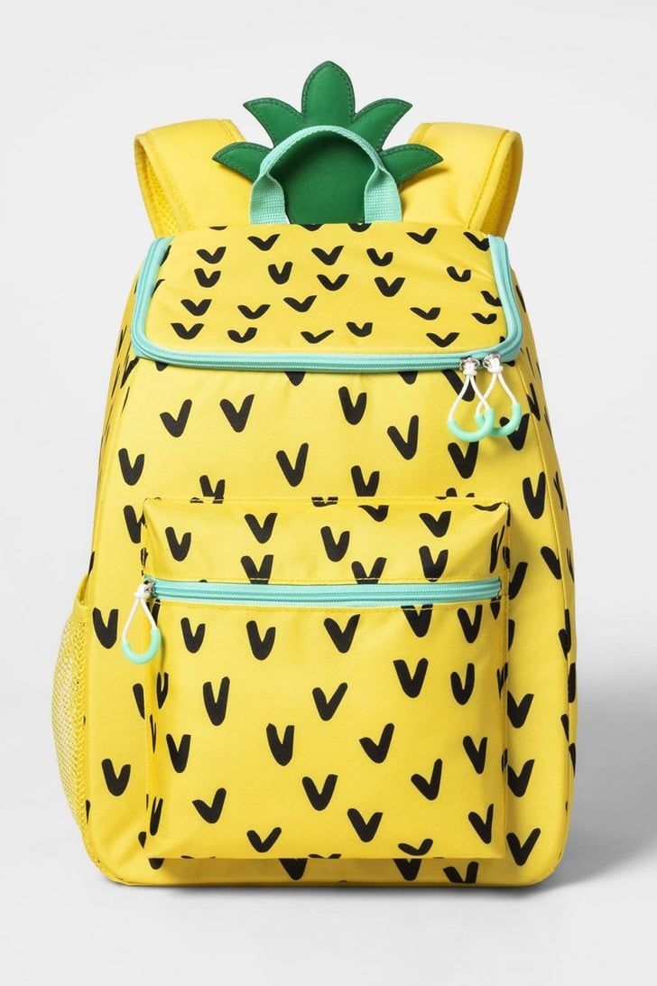Target S 20 Pineapple Backpack Is Also A Cooler So Grab A Few Drinks And Let S Chill Pineapple Backpack Cool Backpacks Backpacks