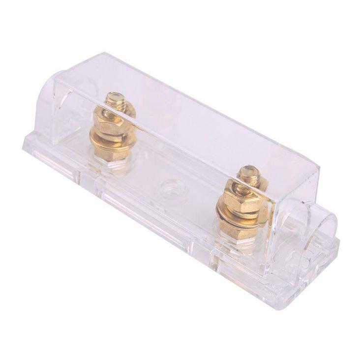 2016 Hot ANL Fuse Holder Case Distribution Fuse holder 100A 400A Gauge Cable Inline Block