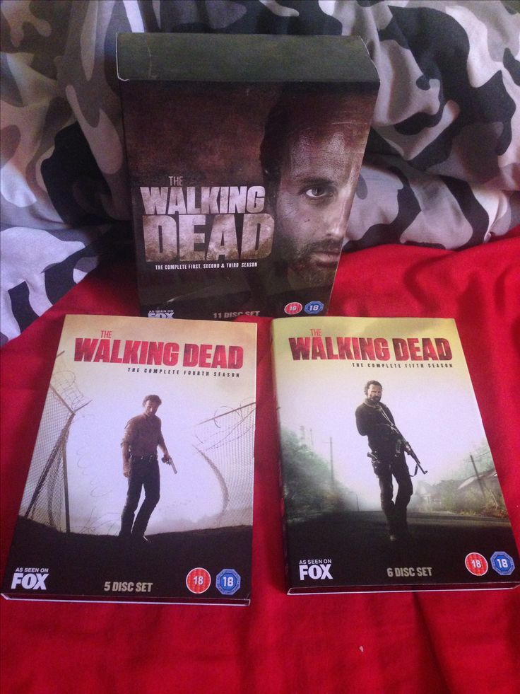 The Walking Dead 1-3 , The Walking Dead Season 4 and The Walking Dead Season 5.