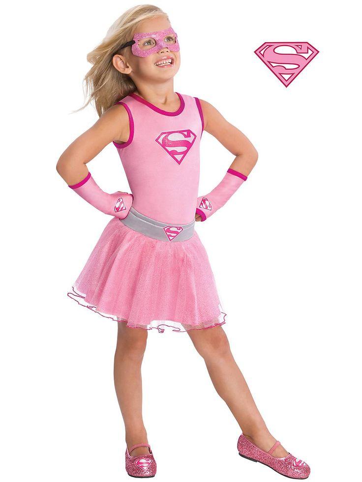 Supergirl Leotard with Glitter Logo! See more #costume accessories at CostumeSuperCenter.com