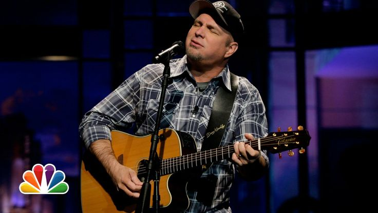 "Garth Brooks ""Night Moves""- The Tonight Show with Jay Leno"