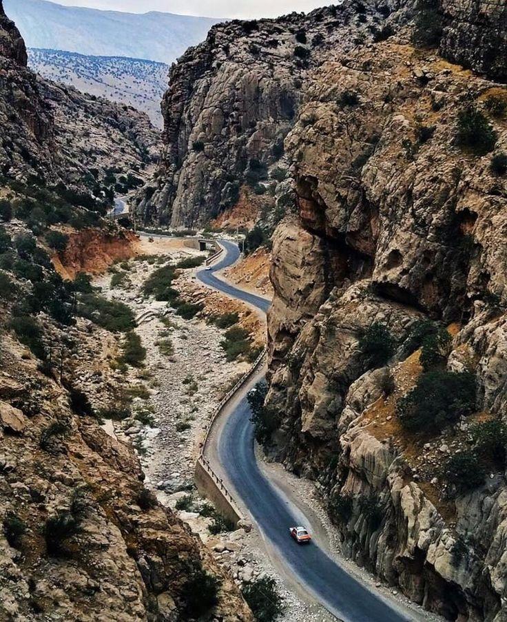 Pir zal Canyon, Kahgiloieh and Boyer Ahmad province, Iran (Persian: دره ی زیبا ی پیرزال در استان کهگیلویه و بویراحمد) Credit: Ehsan Parsi Pour