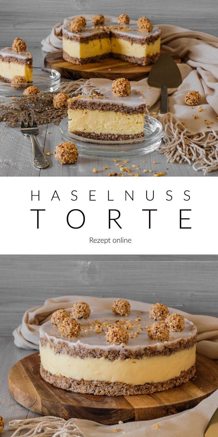 Haselnuss Torte – #Haselnuss #schnelle #Torte