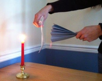 Object lesson - prayer blocks fear