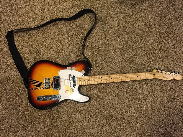 This Was Originally A Standard Fender Telecaster That I Modded To