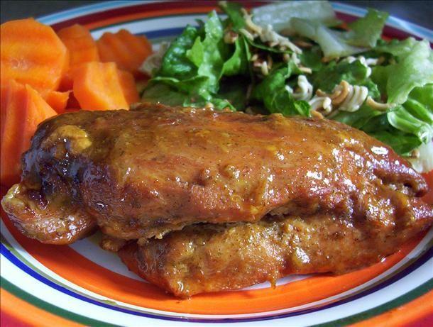 Grilled Honey-Dijon Ranch Chicken