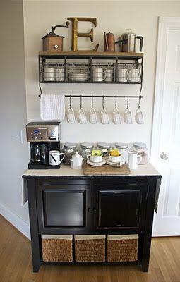 coffee bar - love this!