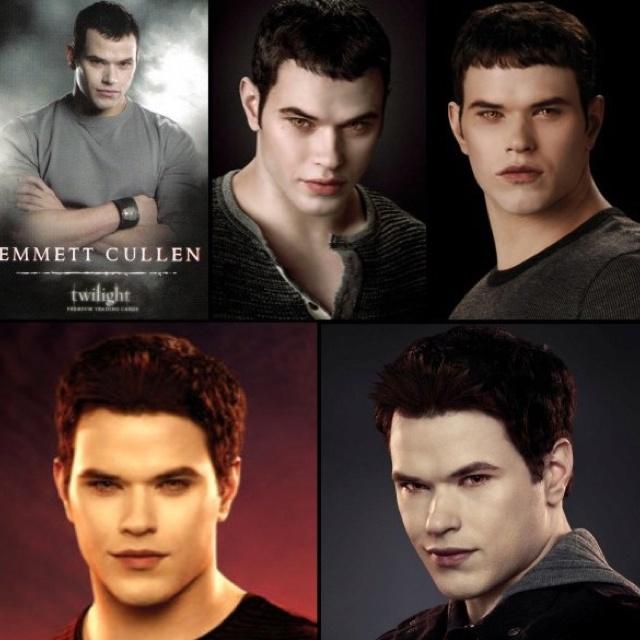 Evolution of Emmet Cullen  from twilight to breaking dawn part 2