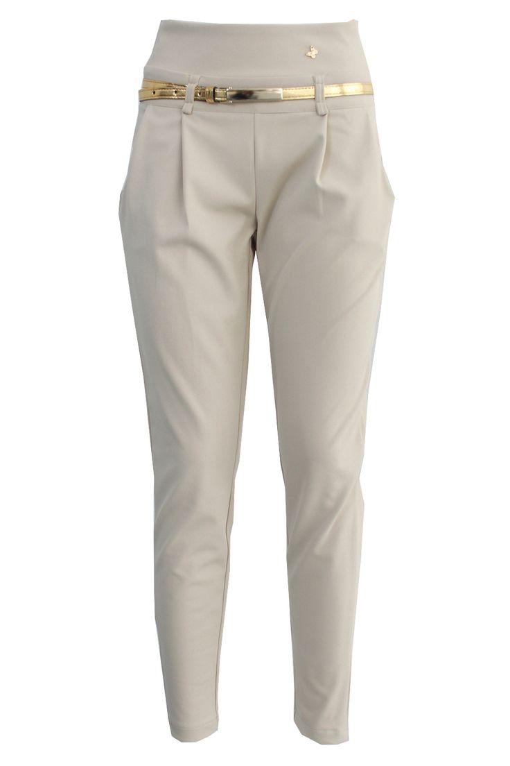 Pantaloni bustino alto c/cintura | Giorgia & Johns