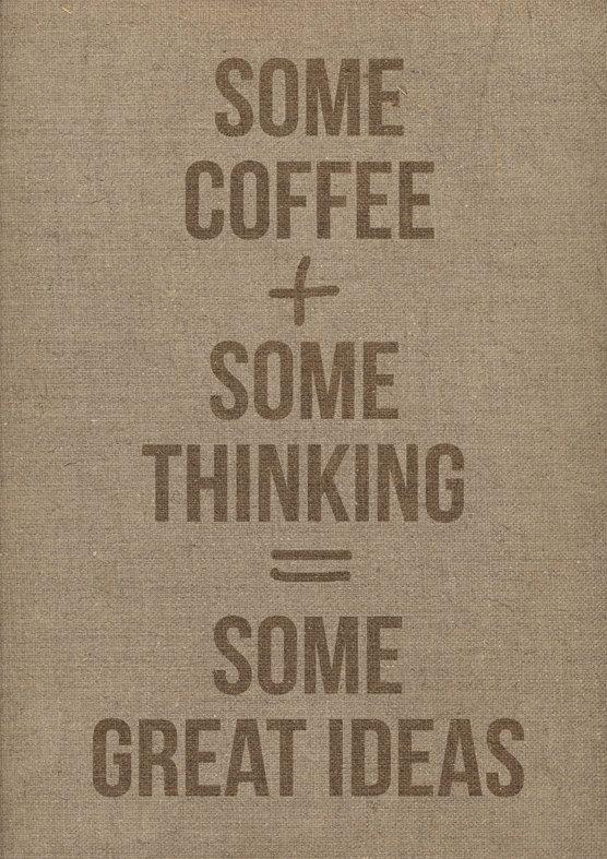 Some coffee....