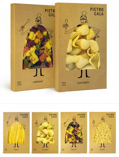 Pasta packaging!