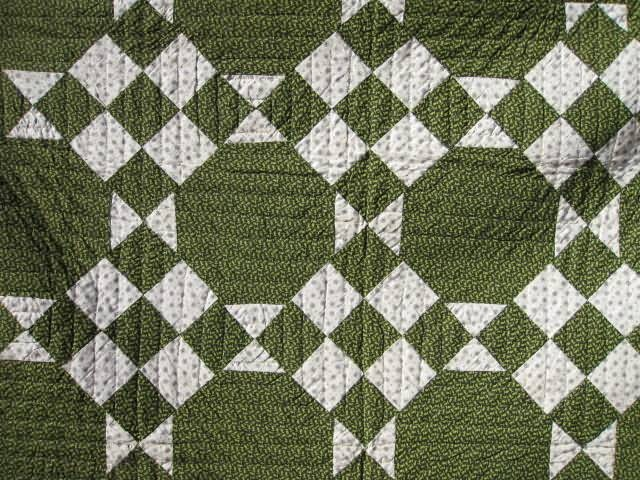1860s.  I just made this in red and white. Great quilt!