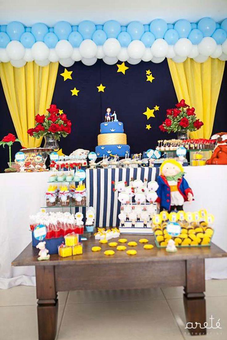 Decoracao fazendinha luxo bolo falso ccs decoracoes eventos car - Festa Pequeno Pr Ncipe 50 Inspira Es Para Festa Infantil Pequeno Principe Decora O