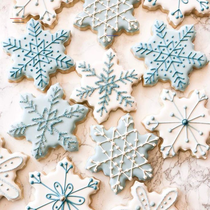 """a Dancing Baker on Instagram: """"""""Snowflakes that stay on my ..."""