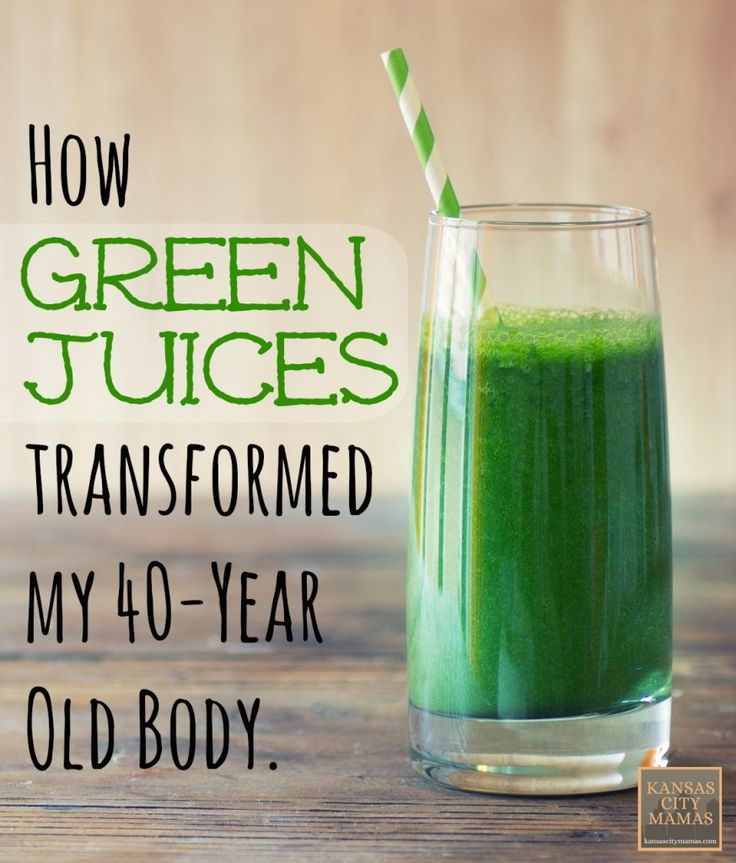 How Green Juices Transformed My 40-Year Old Body (And why I like juicing over green smoothies) | KansasCityMamas.com