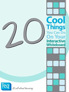 20 Cool Things You Can Do On your Interactive Whiteboard - a free ebook to download! @Theresa Burger Quennoz