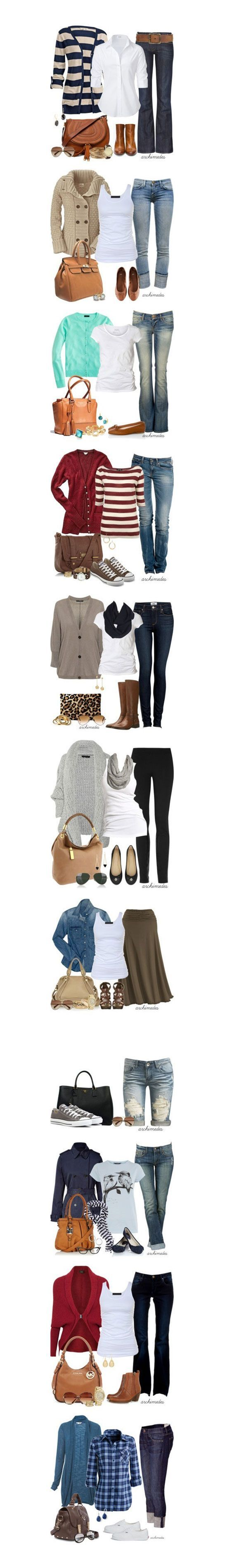 15 Casual Winter Fashion Trends Looks 2013 For Girls Women .... this would be nice wardrobe to have.