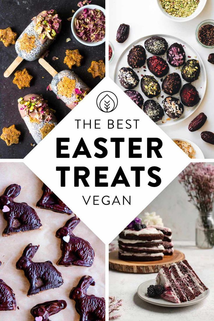 46 Healthy Vegan Easter Recipes Breakfast To Dinner In 2020 Easter Food Treats Vegan Easter Treats Vegan Easter Recipes