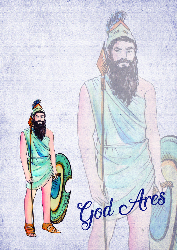 Greek Gods Scrapbook Paper   Be Different Baby in 2020 ...
