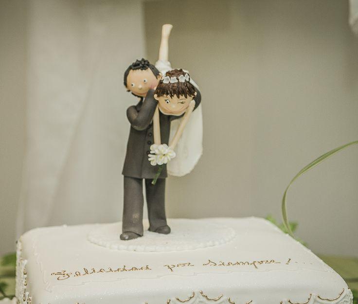 Ideas de muñecos de boda para las tortas