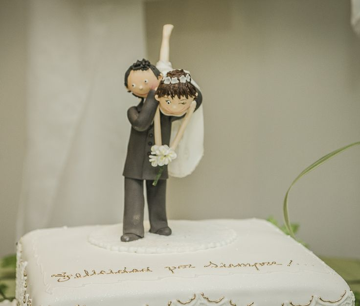 Torta de bodas personalizada