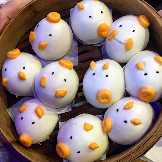 PSA: there are adorable dumplings at Golden Unicorn restaurant in NYC.  @chow_or_never. Add eater to your best food photos and we'll share our favorites.
