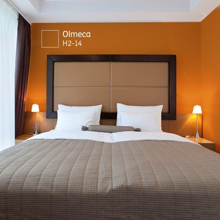 Combina los colores c lidos con los colores intensos tendr s armon a en tu habitaci n - Colores para las habitaciones ...