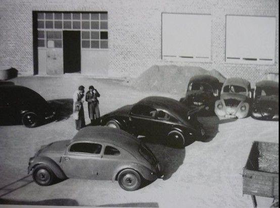OG | 1937 Volkswagen / VW Beetle | KdF-Wagen Prototype W30 under destruction