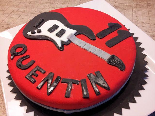 "Fantaisie Cake: Cakes Anniversaire "" Rock'n'Drums """